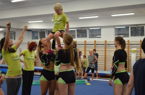 F&B Acrobatics, Free running, Cheerleading